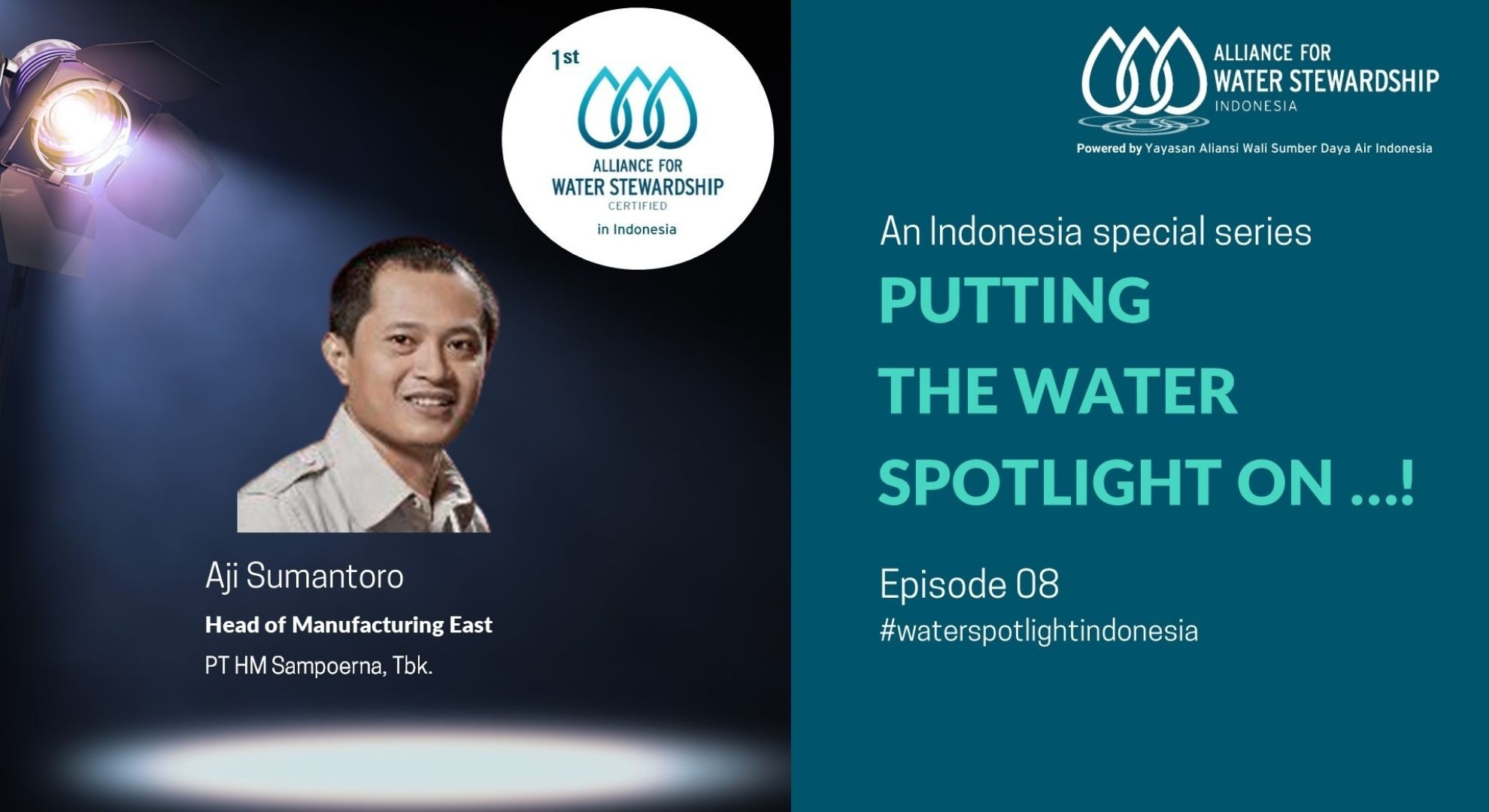 Putting the Water Spotlight on ...! Episode 08
