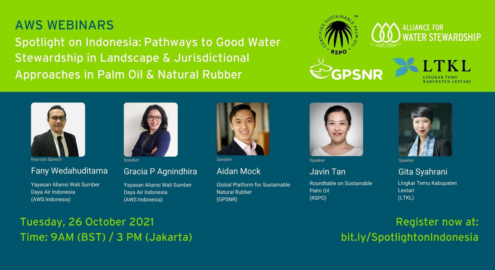 AWS Spotlight on Indonesia: Pathways to Good Water Stewardship in Landscape & Jurisdictional Approaches in Palm Oil & Natural Rubber
